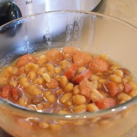 Slow Cooker Franks and Beans #SFSmarties