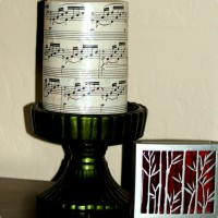 DIY Candle Makeover w/ Sheet Music & Mod Podge
