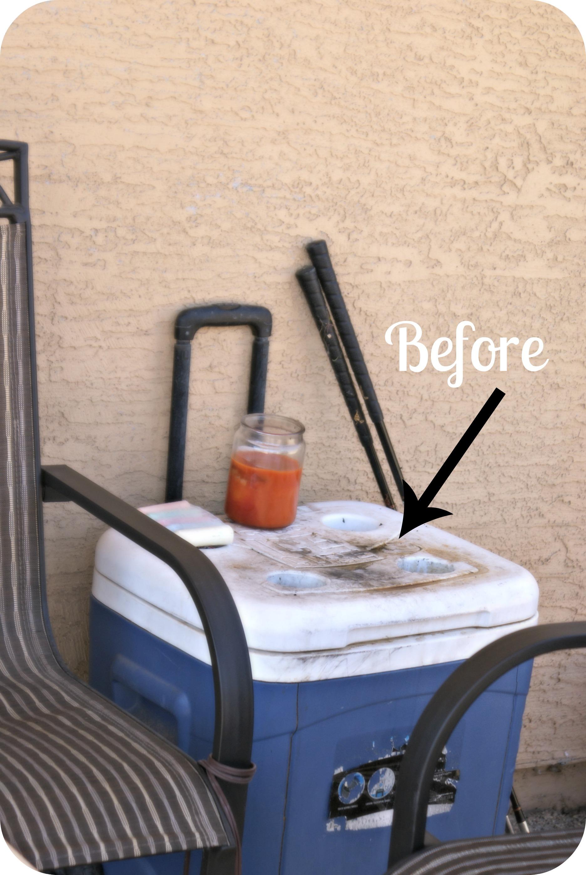 Memorial Day Backyard Mini Makeover W Decor And Furniture