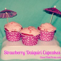 Mother's Day: Strawberry Daiquiri Cupcake Recipe