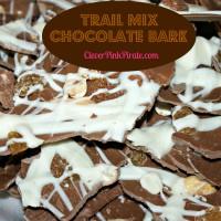 Trail Mix Chocolate Bark Recipe