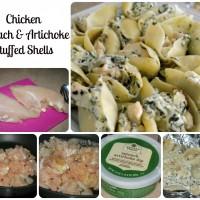 Mango Salsa Chicken and Chicken Spinach Artichoke Stuffed Shells ~ Easy Meals with Sam's Club