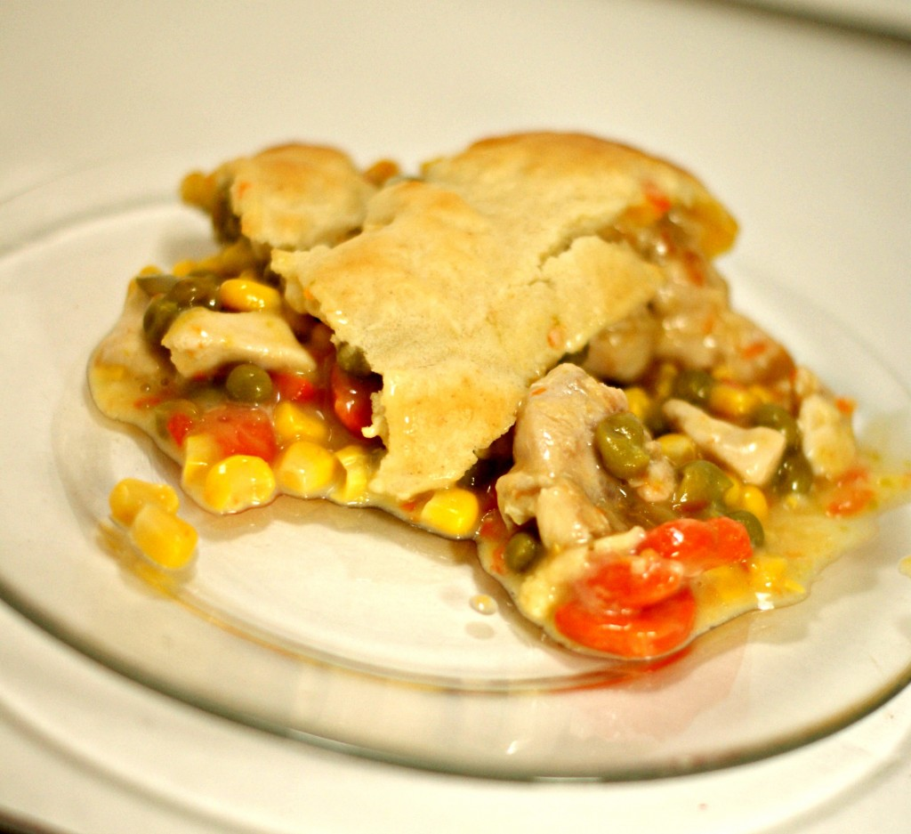 The Frugal Foodie: Easy Chicken Pot Pie Recipe -