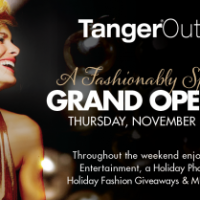 Tanger Outlets opening This Weekend at Westgate!