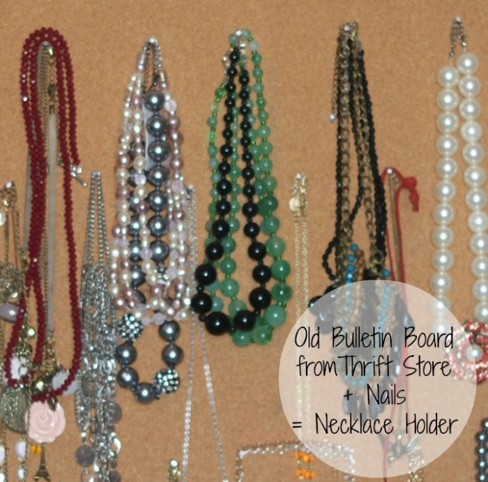 DIY Tips for Hanging Necklaces
