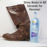 Thrifty Thursday: 60 Second Shoe Shining Trick
