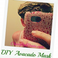 DIY Beauty Avocado Hair Mask & Coconut Oil Body Scrub