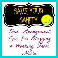 Time Management Tips for Blogging and Working From Home