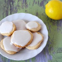 Lemon Ice Box Cookie Recipe