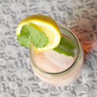 Lemon Cherry Mint Italian Cream Soda Recipe