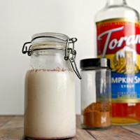 Pumpkin Creamer Recipe
