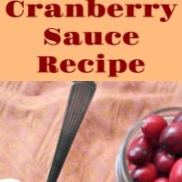 Fresh Cranberry Sauce {Easy & Quick Recipe from Scratch}