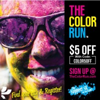 Color Run Phoenix/Tempe Discount Code!