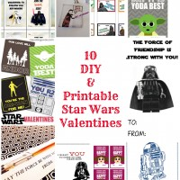 10 DIY & Printable Star Wars Valentines