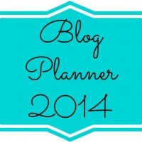 4 Blogging Tools: Printable Blog Planner, Editorial Calendar, Income and Expense Tracker & Media Kit