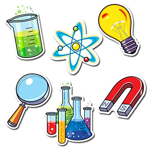 Science Cutouts for Mad Science Party
