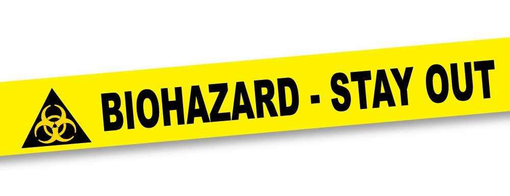 How fun is this Biohazard tape on Amazon.com for less than $5! Perfect for science parties!
