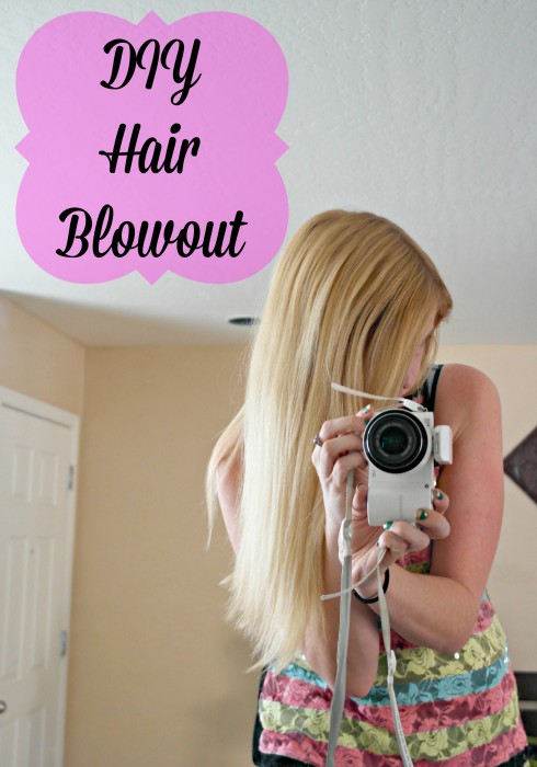 DIY Hair Blowout with a few simple tools
