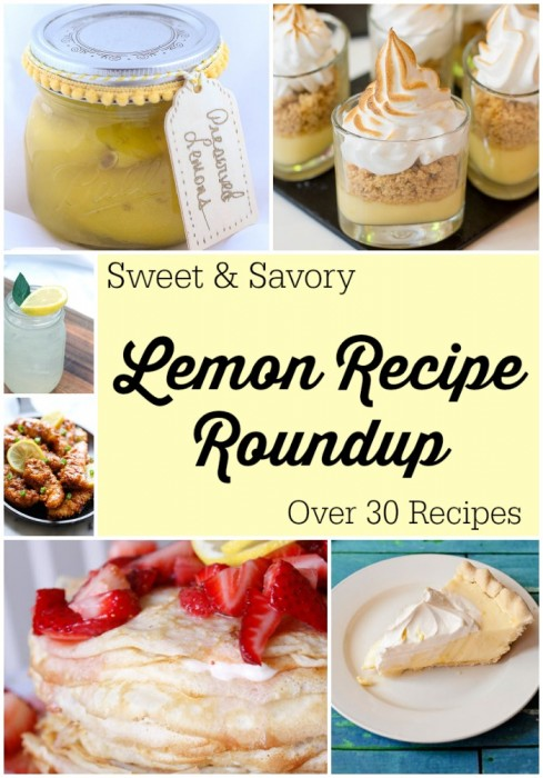 Lemon Recipe Roundup