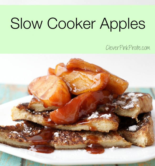 Slow Cooker Apples Recipe