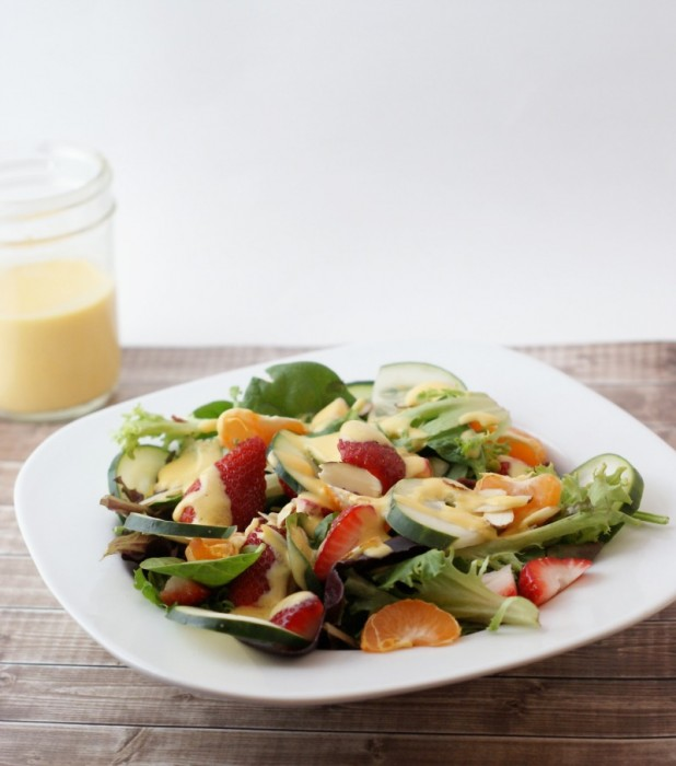 Summer Salad w/ Mango Dressing