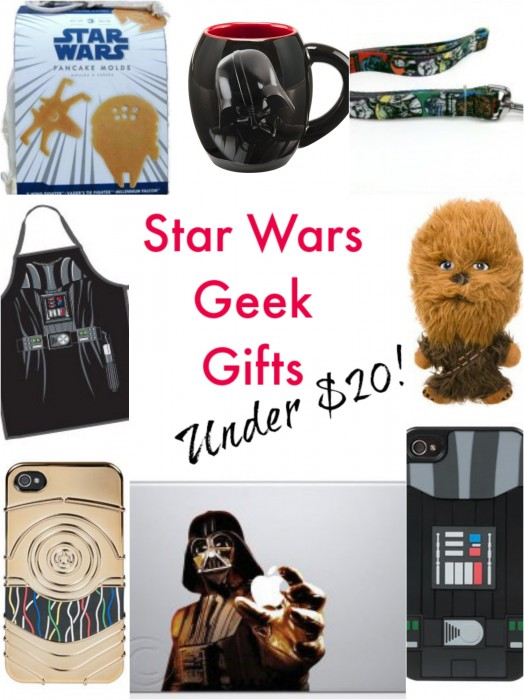 Star Wars Geek Gifts (for under $20 each)