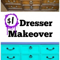 Thrifty Thursday: DIY Dresser Makeover $1