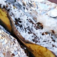 Campfire Banana Boat Recipe