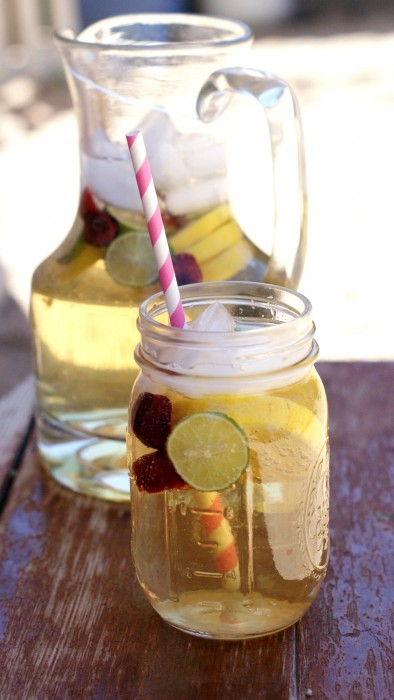 White Summer Sangria Recipe