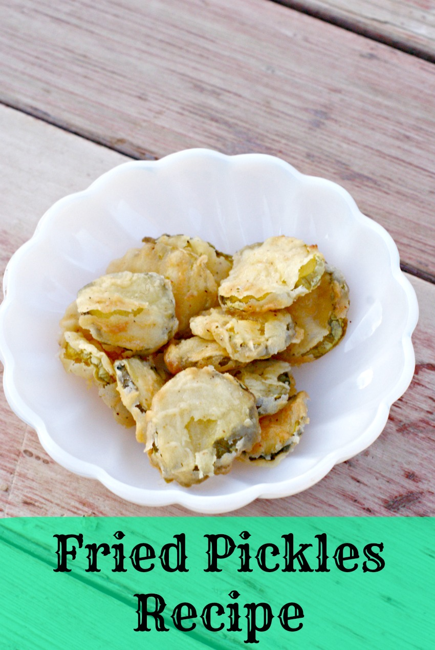 Fried Pickles Recipe (no deep frier needed)