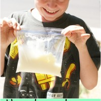 How To Make Ice Cream In A Bag