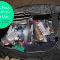 How to Pack Your Suitcase To The Max