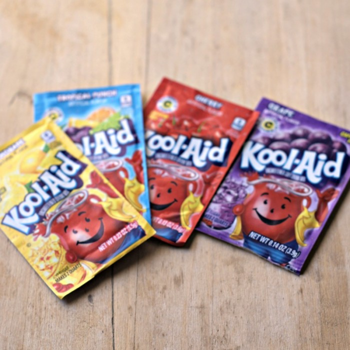 Scratch 'n Sniff Paint w/ Koolaid