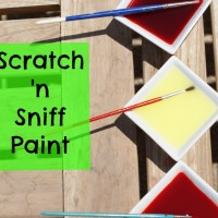 Scratch 'n Sniff Paint Recipe