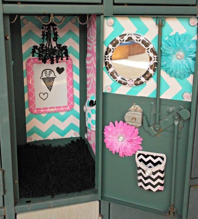 Locker Makeover