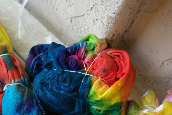 how to to do a spiral tie dye
