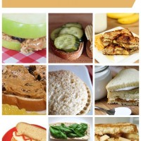 9 Peanut Butter Sandwich Variations for School Lunches