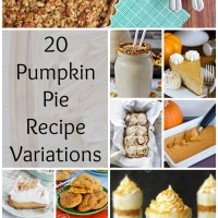 Pumpkin Pie Recipe Variations