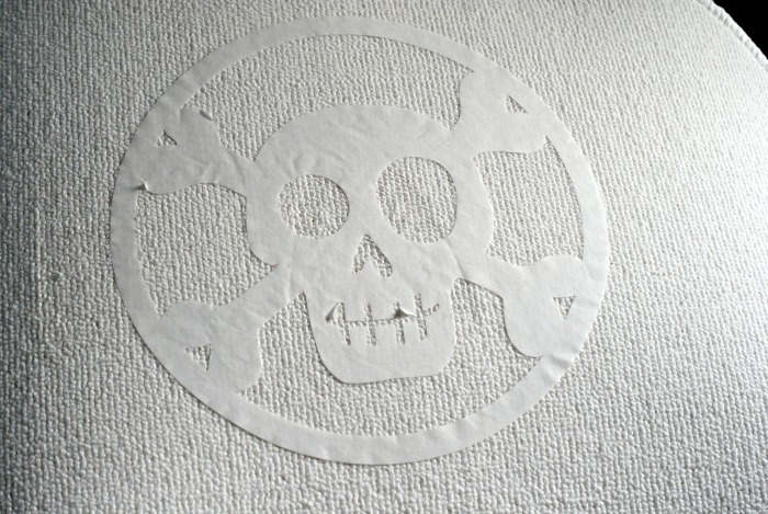 DIY Skeleton Rug