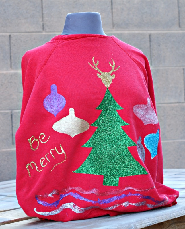 DIY your Ugly Sweater for the Christmas party this year!