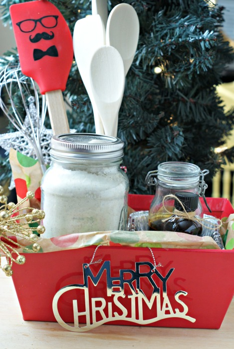 Easy DIY Baker Gift Basket for less than $10