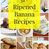 51+ Ripened Banana Recipes