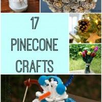 17 Pinecone Craft Tutorials