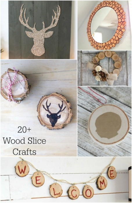 20+ Wood Slice Crafts