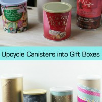 Upcycle Food Containers into Gift Boxes