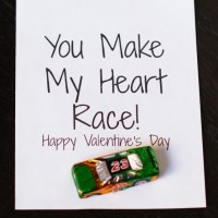 Chocolate Car w/ Printable Valentines