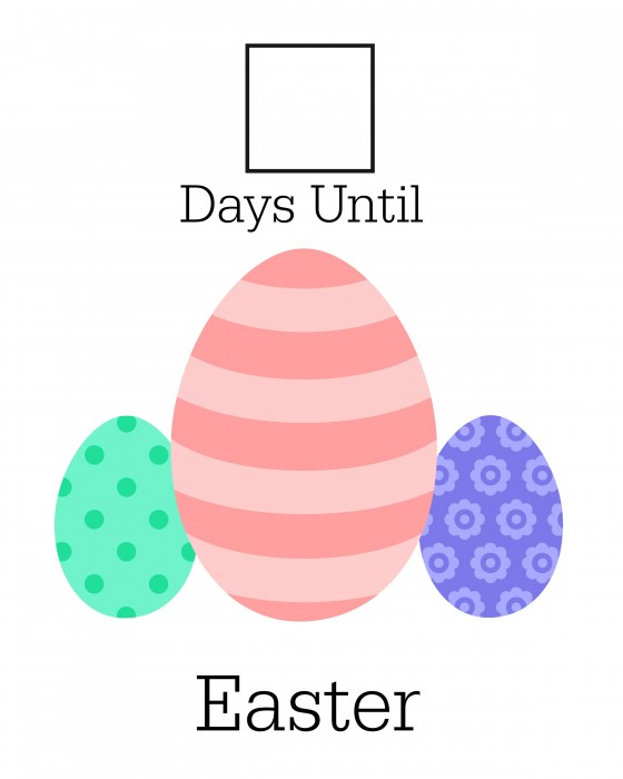 Printable Easter Countdown