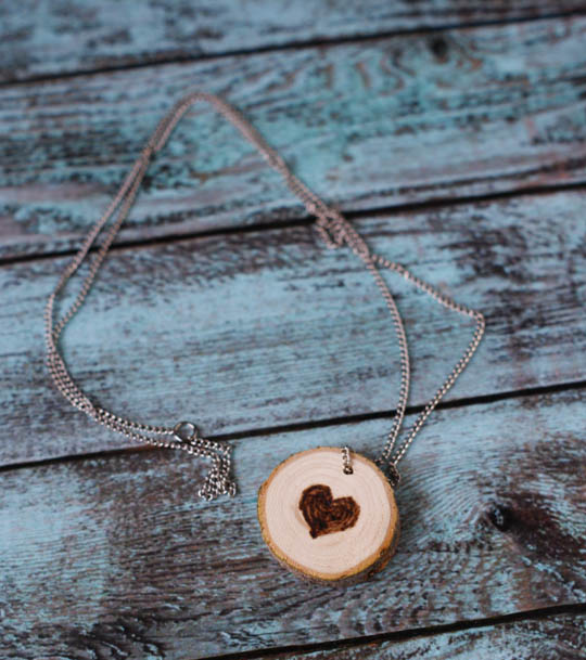 Wood Slice Jewelry