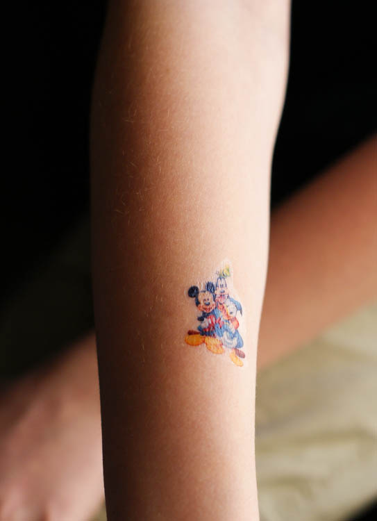 DIY Printable Disney Tattoos