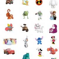 DIY Disney Character Tattoos